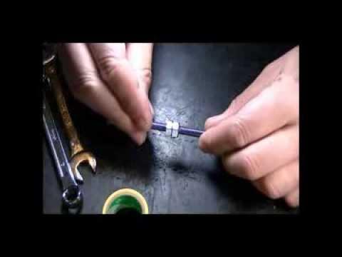 Homemade driving tool for valve guide (side:B)