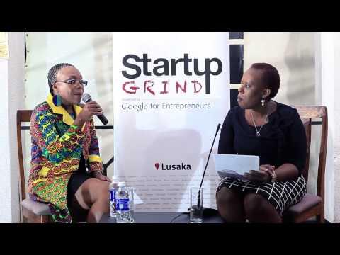 Karen Nakawala (Afro Multi Media Productions) at Startup Grind Lusaka