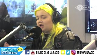 Alma, la chanteuse (23/11/2017) - Bruno dans la Radio