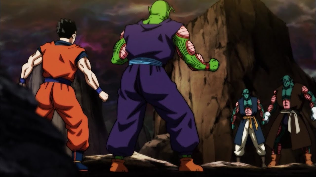 Image result for gohan and piccolo universe 6 namekians