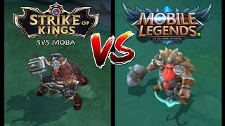 STRIKE OF KINGS (SoK) VS MOBILE LEGENDS (ML)  |  MUST WATCH THIS!!!