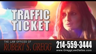 Dallas Traffic Ticket Lawyer | Running a Stop Sign