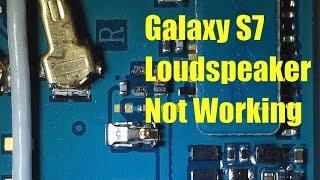 Galaxy S7 Loudspeaker Repair
