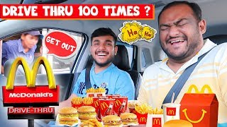 Driving Through The Same McDonald's Drive Thru 100 Times? | Viwa Food World
