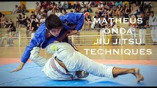 Matheus Onda - Jiu Jitsu Techniques [HELLO JAPAN]