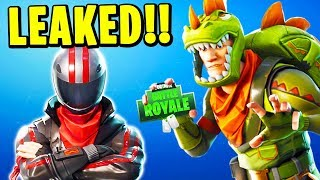 SECRET SKINS *LEAKED* in FORTNITE! (T-REX, BURNOUT, ROGUE AGENT & MORE) | Chaos