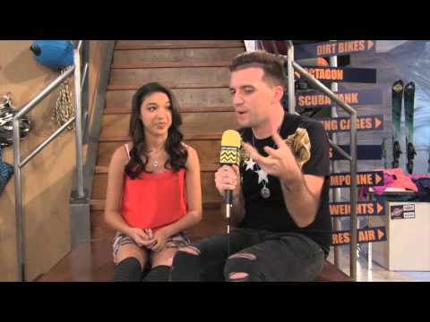 Gabrielle Elyse @ Nickelodeon's Nicky, Ricky, Dicky, and Dawn  AfterBuzz TV