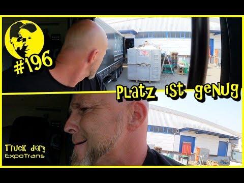 Platz ist genug / Truck diary / ExpoTrans / Lkw Doku #196
