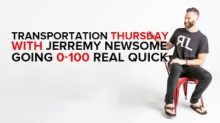 Transportation Thursday with Jerremy Newsome going 0-100 REAL QUICK
