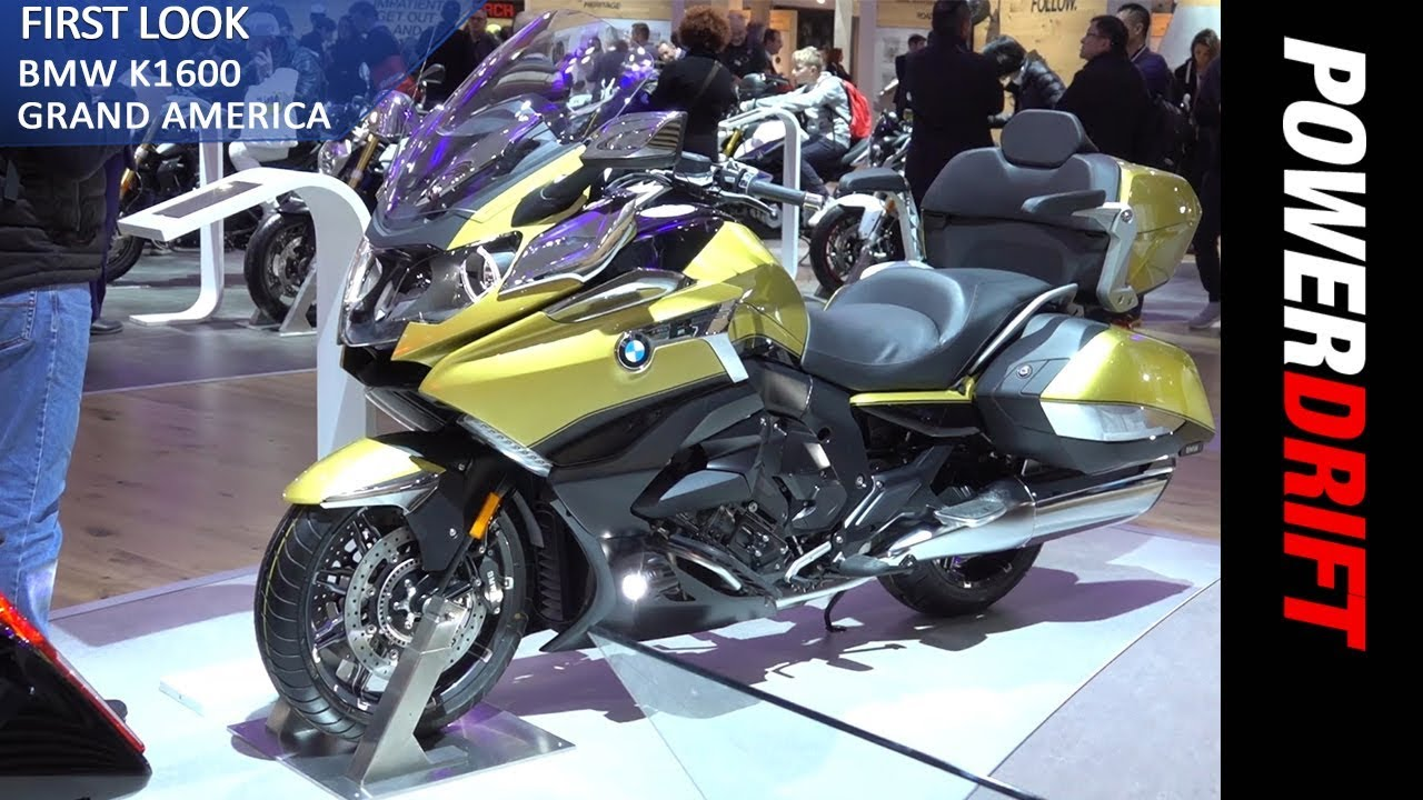 2018 bmw k 1600 grand america eicma 2017 powerdrift youtube. Black Bedroom Furniture Sets. Home Design Ideas