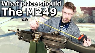 CS:GO - What price should the M249 be?