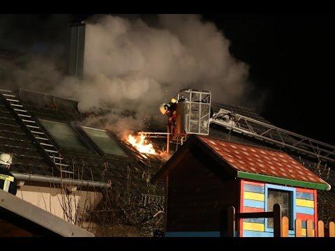 Kreis Günzburg: Brand einer Gartenhütte greift auf Doppelhaushälfte über