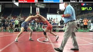 Junior 138 - Aaron Pico (California) vs. Chris Garcia (Illinois)