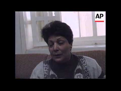 ISRAEL: FORMER HIJACKER LEILA KHALED IS PERMITTED BACK INTO ISRAEL