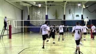 NP Boys Volleyball vs Pennridge 04 02 2014 Game 2