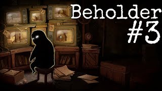 Beholder #3 - Choroba Marty (Gameplay, PL, Let's play)