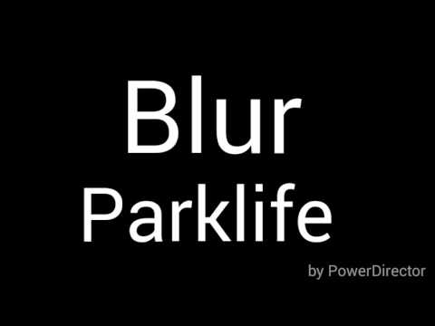 Blur Parklife lyrics