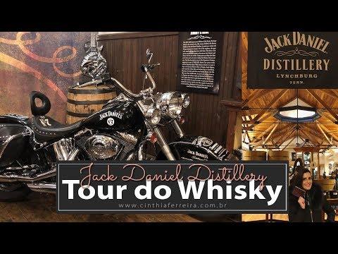 Visitando a Destilaria Jack Daniel's em Lynchburg no Tennessee
