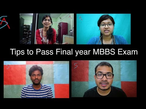 Tips to Pass Final year MBBS Exams || College Tips