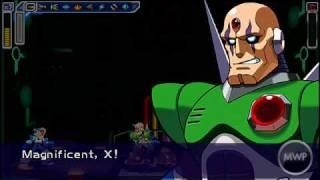 Megaman Maverick Hunter X -PSP- [Sigma Palace 4 & Ending] 100%