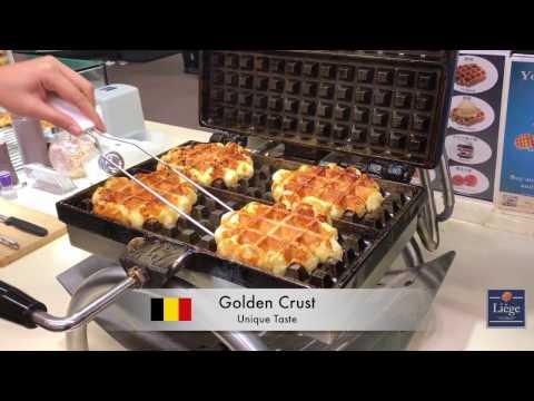 Belgian Dark Chocolate Waffle