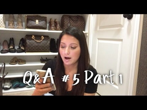 Q&A #5 - Part 1 - Tory Burch, Louis Vuitton, more kids and m