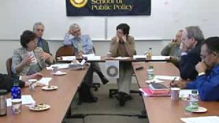 2009 Wildavsky Forum Panel Discussion: Changing Inequality: What produces and changes levels of inequality?