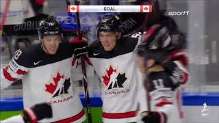 Eishockey WM 2018 - Kanada vs. Schweiz 2:3 / Halbfinale Highlights Sport1