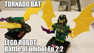 TORNADO BAT, LEGO ROBOT Battle Of Unibot (Unboxing Toys kidzu bento HOKBEN) Ep 2.2 serial GIGA BOT