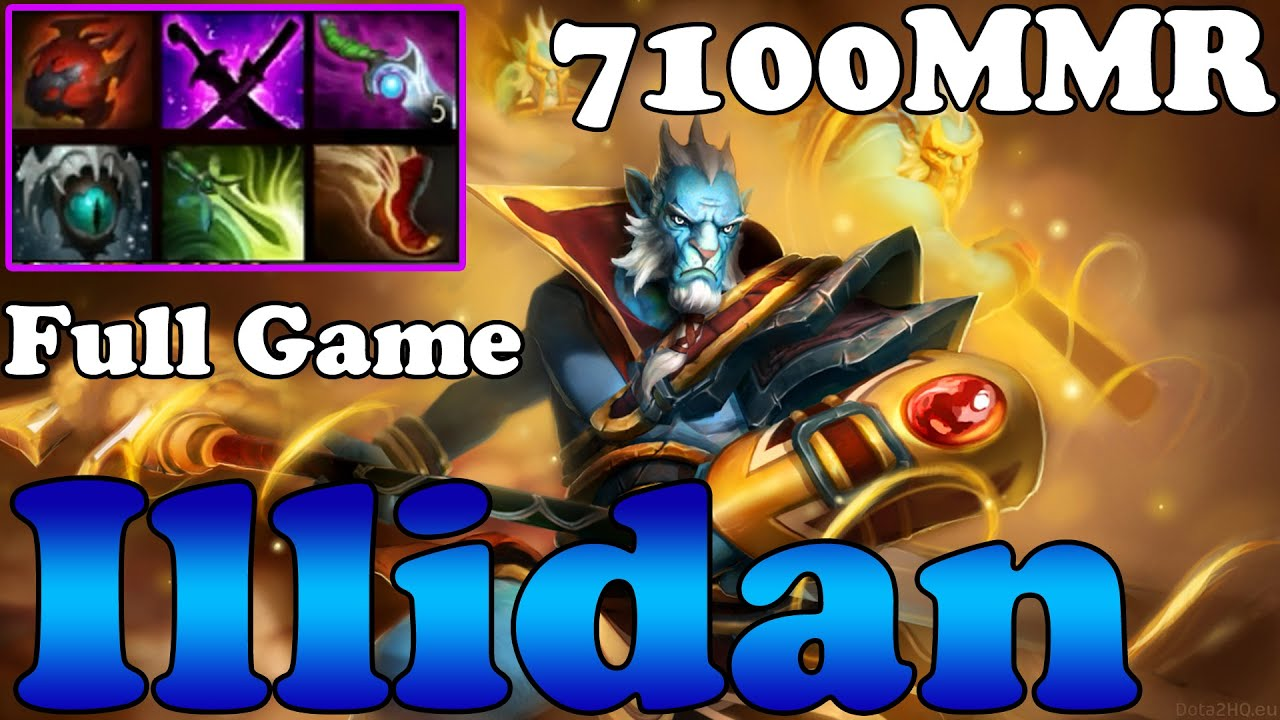 dota 2 illidan 7100mmr plays phantom lancer full game ranked