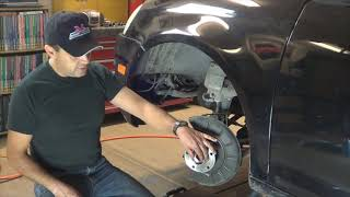 2007 VW Jetta Front Hub Wheel bearing replacement by Howstuffinmycarworks