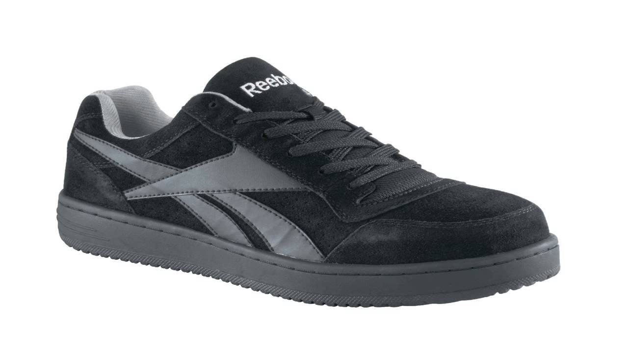 9b85c814f45d81 Reebok Work Mens Soyay RB1910 Skate Style EH Safety Shoe - YouTube