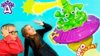 НЛО прилетело к Друзякам НЛО игра Для детей Прикольные игры для детей#ДЕТСКИЙ КАНАЛ Видео для детей