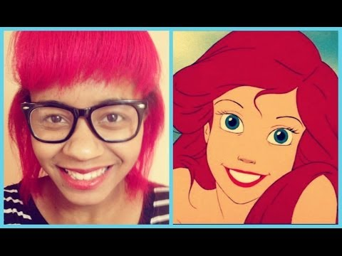 ♥ Dying My Hair Red ♥ Inspired by The Little Mermaid!