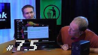 c't uplink 7.5:  NAS-Kaufberatung, günstige All-in-One-PCs, Pluto-Vorbeiflug