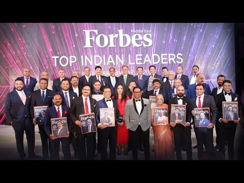 Forbes Middle East Top Indian Leaders in the Arab World 2018 - Highlights