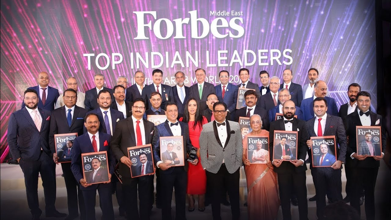 Top Indian Leaders In the Arab World 2018 - Forbes Middle East