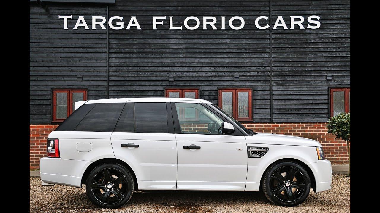 Range Rover Sport 3 0 TDV6 Autobiography Automatic in Fuji White