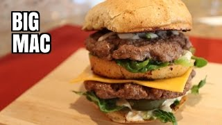 McDonald's Big Mac Recipe (Healthy Version) - Tribute to HellthyJunkFood