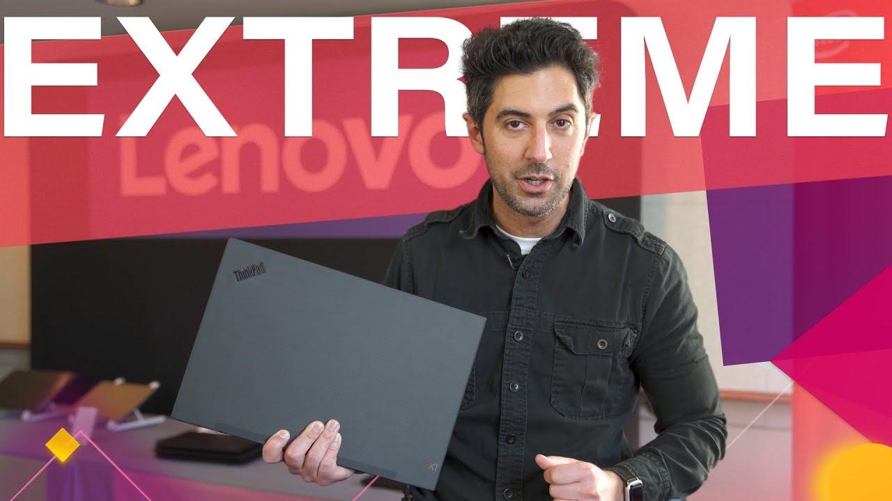 Lenovo ThinkPad X1 Extreme (Gen 2, 2019) Hands-On