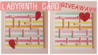 DIY | Labyrinth Card | GIVEAWAY