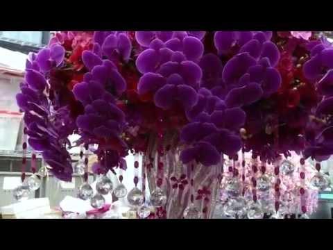 Оформление зала на свадьбу: цветами, шарами,тканями