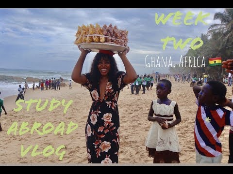Ghana Study Abroad Vlog | Week Two: Chale Wote Festival, Cape Coast, and More
