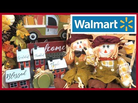 WALMART FALL DECOR 2019