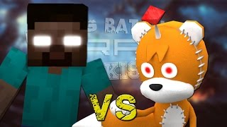 Herobrine vs Tails Doll. Épicas Batallas de Rap del Frikismo ¡Bonus! | Keyblade thumbnail