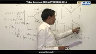 JEE Advanced 2016 Physics Solution Q. 13, 14 (Paper-2) Code-9