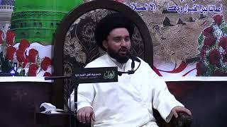 لماذا لم يسجد إبليس لأدم عليه السلام - السيد محمد القصاب