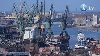 Nauta Buduje Statki Na Terenie Stoczni W Gdańsku