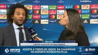 Marcelo fala sobre passe para Cristiano Ronaldo: