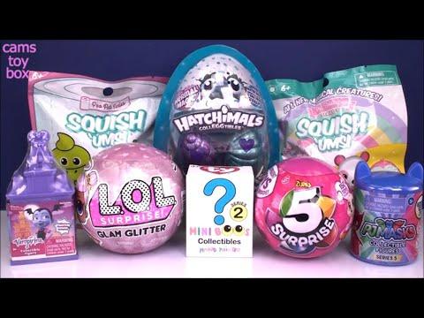 Hatchimals Color Change LOL 5 Surprise GIRLS Glam Glitter DOLLS Unboxing TOYS